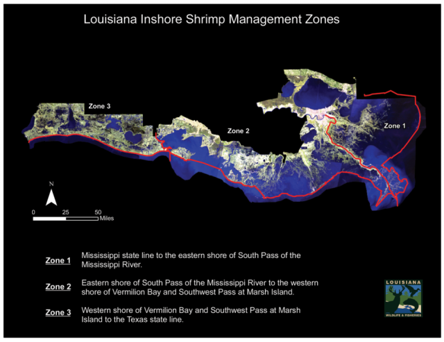 Louisiana-inshore-shrimp-management-zones